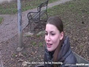 Bitch Stop - Skinny teen Zuzana gets fucked by horny dude free