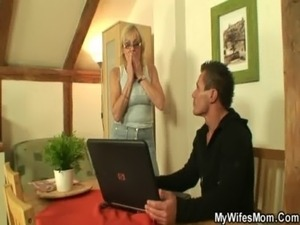 I've just fucked my mother-in-law free