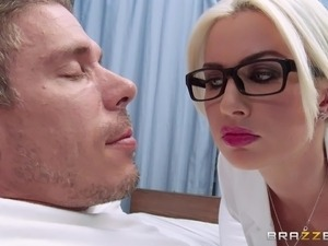 doctor measures their cocks