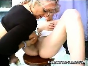 Mature Lesbian Toying Her Partner's Pussy