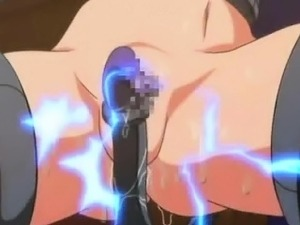 Caught hentai girl gets fucked by robot shemale
