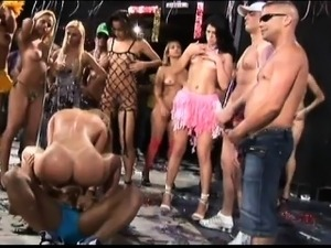 extreme brazilian carneval groupsex dance and fuck anal orgy