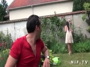 Asian french emo girl gets ass fucked outdoor free