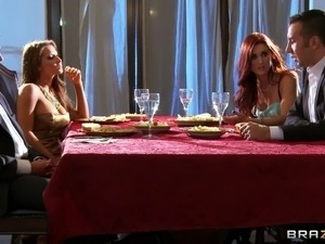 Madison Ivy and Karlie Montana are unfaithful wives that cheat