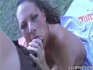 Naked Mature Lady Handjob free