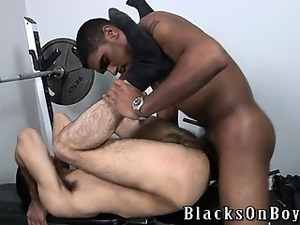 BlacksOnBoys.com has a brand new black stud.  His name is