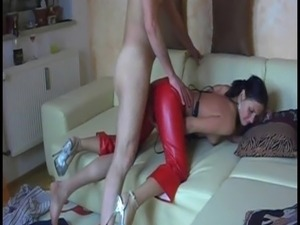Homemade video tape German woman want the cock in the ass