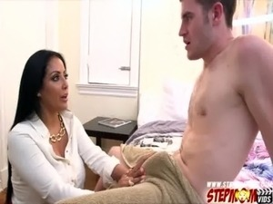 Skateboarders stiff man meat makes stepmom horny and have sex free