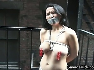 Tied real asian Beauty 3 Melody hard part4