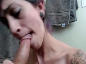 Cute girl seduces her friends husband in POV blowjob