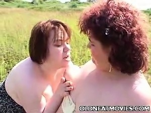 Fat Mature Lesbians Going At It