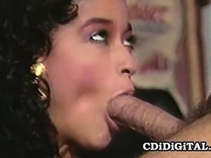 Nina DePonca And Ron Jeremy - Hot Retro Porn