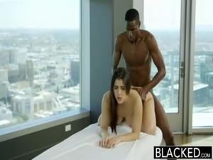 BLACKED Sexy Italian Babe Valentina Nappi Rimming Black Man With Passion free