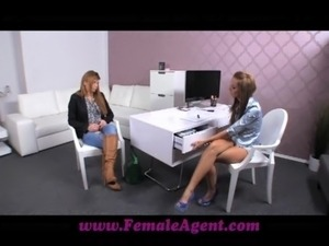 FemaleAgent Shy girl turns into insatiable lover free
