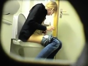 Young Girl Going To The Toilet Spy Cam