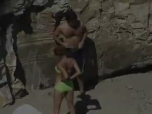Spy couple fucking on beach free