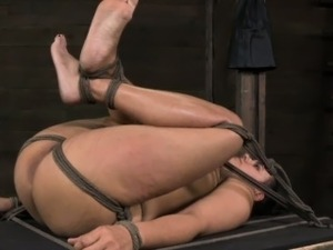 Boxtied bdsm Penny Barber punished hard