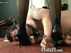 Amazing Fem Dom With Nasty Chick