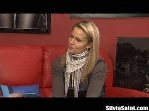 Silvia Saint Casting a Sexy Blonde Teen free