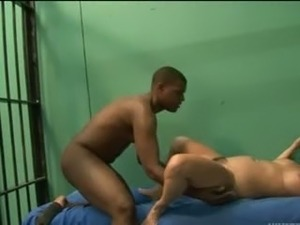 hungry hairy blonde fucked in prison