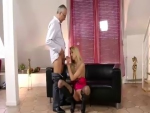 Teen stocking hardcore action free
