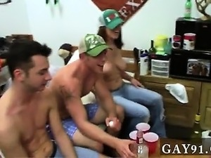 Hot gay Well this looked like a pretty casual game of unwrap pong,