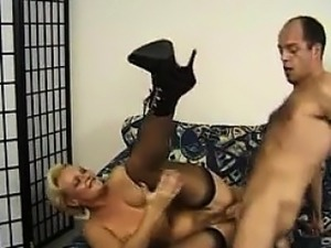 Mature Blonde German Getting Pounded