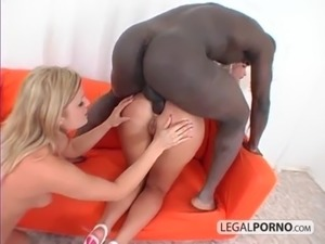 2 hot blondes and a big black cock having a threesome GB-15-02 free