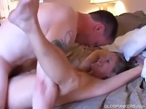 Gorgeous mature blonde loves to fuck