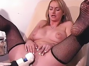 3 orgasms a day just aren\'t enough for horny Aline. She