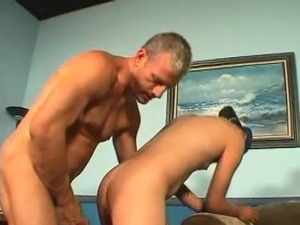 Tall and slim twink Jon getting ass fingered and banged hard