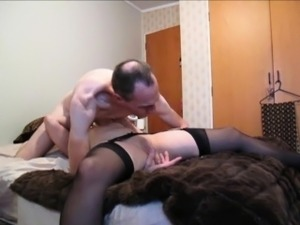 Hot Oral Lovers - Grandpa VS young chick