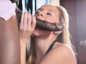 Sucking landlords big black cock for rent