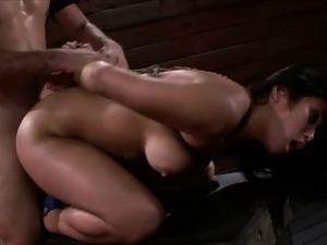 Mia Li Loves to Squeal for her Master