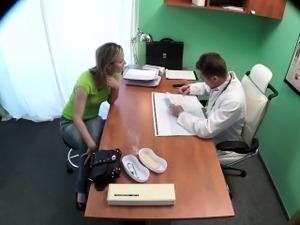 Patient wants her doctor\'s cock