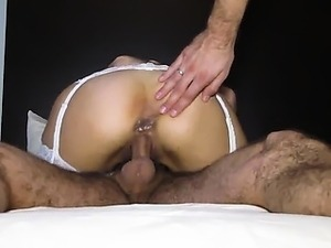 fat ass wife get dp on homemade