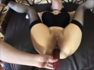 Restrained and ass fucked, her favorite!