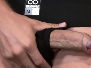 Perfect jerking action of amazing buddy