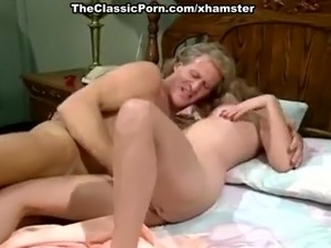 Nicole London, Randy West in sizzling hot fucking of classic