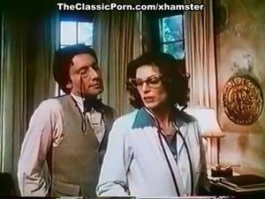 Kay Parker, John Leslie in vintage xxx clip with great sex