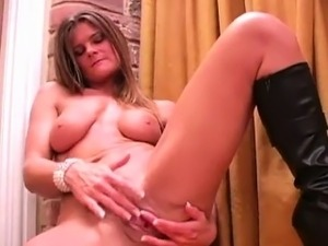 Dirty hookers masturbate and get sprayed with spunk
