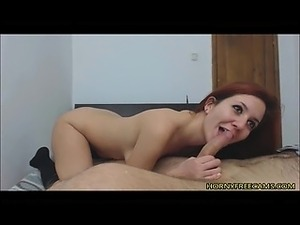 Redhead Beautys Anal Sex And Cum Swallowing