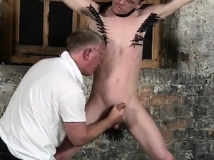 Emo hardcore twink gay sex first time With his mild testicle