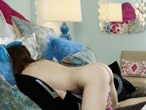 Super girl with horny ass and vagina enjoy