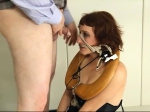 amazing BDSM toilet slut fucked anally hard