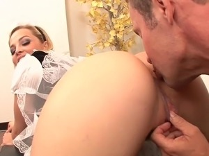She A Sexy Babysitter And Maid