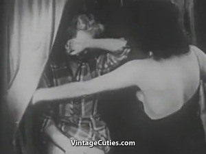 Amazing Woman gets Punished for Spying (1940s Vintage)