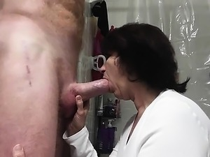Couple blowjob matures
