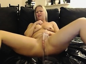 All over herself squirts