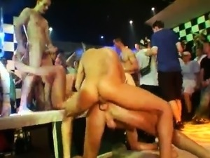 Black gay hunk xxx porn This male stripper party is racing t